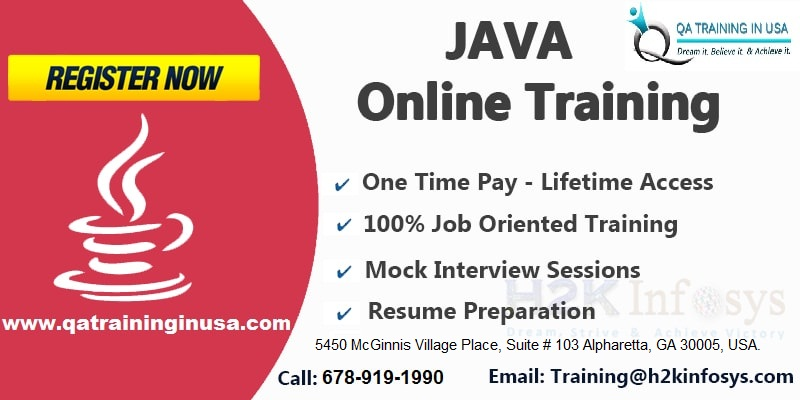 Java Online Training in USA