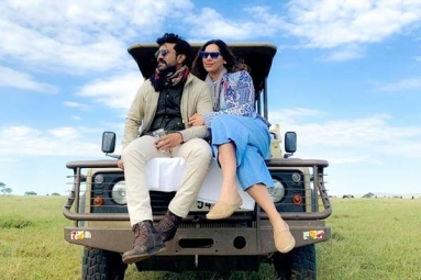Charan and Upasana Holidaying in Africa
