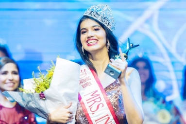Former Indian shuttler crowned Mrs India USA Oregon 2019