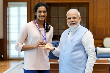 'India's Pride': Narendra Modi Meets World Champion PV Sindhu
