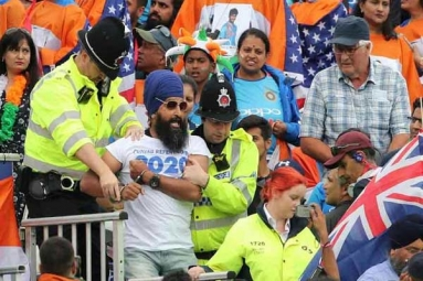 World Cup 2019: Pro-Khalistan Sikh Protesters Evicted from Old Trafford Stadium for Shouting Anti-India Slogans